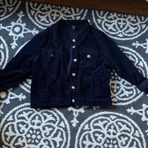 Navy corduroy jacket